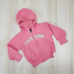 Cuffy's of Caped Cod Sweatshirt 12-18 M Pink